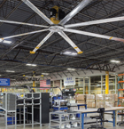 VELOCITY™ Series HVLS Warehouse Fans